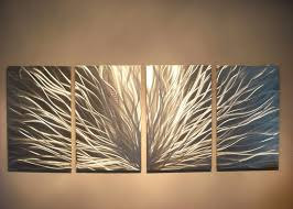 image of modern metal wall art decor and sculptures