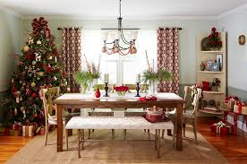 decorating dining room. 21 Christmas Dining Room Decorating Ideas With Festive Flair! Deck Your C