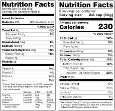 coors light nutrition label facts iron