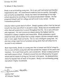 Parent Letter Of Recommendation Sle Parent Letter Template 28