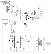 ultra bright led emergency light schematic design mini ups · automatic switching on emergency light