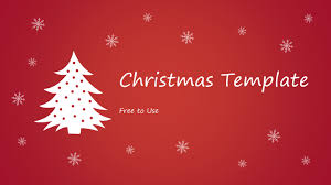 Free Powerpoint Christmas Templates Free Christmas Powerpoint