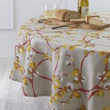 camilla linen 90 round tablecloth