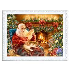 merry christmas black jesus.  Christmas Needlework Resin Square DIY 5D Diamond Painting Cross Stitch Kits Full  Embroidery Merry Christmas Santa Jesus And Deer Cat Tree Intended Black Jesus U