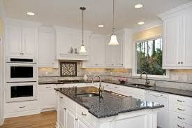 pictures of white kitchens with granite countertops. blue pearl granite countertop : white kitchen cabinets with countertops \u2013 installation pictures of kitchens i