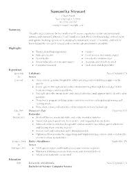 Resumes With Objectives Waitress Resume Objective Cocinacolibri Com