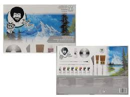 Pintura Design Master Details About Bob Ross Master Oil Paint Set W Bundle Options For Easel Canvas Or Sketch Box