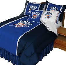 nba oklahoma city thunder bedding set basketball bed full