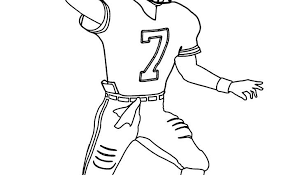 Small Picture Football player coloring pages wwwbloomscentercom