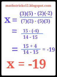 to aapne iss post me second aor third type k simple equation ko tricks se lagana shikha abhi aor type hai simple equation ko tricks se solve karne k unhe