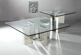 full size of square tempered glass coffee table with chrome base large and s home design