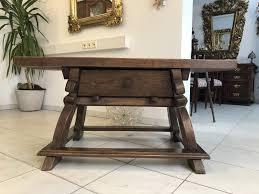 Esstische Antik Holz Esstisch Ausziehbar Antik