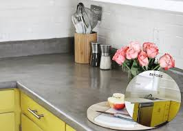 did you know you could make your own concrete counters check out this concrete counter diy from a beautiful mess