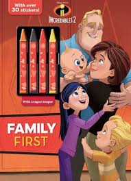 These incredibles 2 coloring pages are always great for a themed party, rainy day activity and road trips! Disney Pixar Incredibles 2 Family First By Parragon Coloring Book Barnes Noble