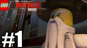 LEGO Ninjago Movie Videogame Gameplay Walkthrough Part 1 - PS4 Pro - YouTube