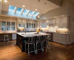 stunning awesome vaulted ceiling kitchen lighting ideas house