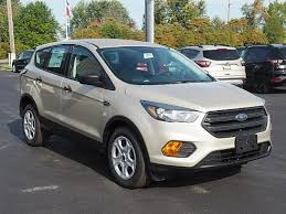 2018 ford white gold.  white 2018 ford escape s white gold metallic cortland oh in ford white gold
