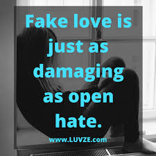 Love Is Fake Quotes Fascinating 48 Fake Love Quotes And Sayings