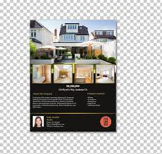 for sale by owner brochure real estate house estate agent flyer for sale by owner png