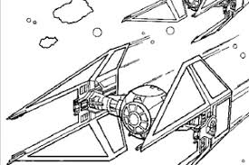 Small Picture How to Draw Star Wars Ships Tie Fighter Coloring Page 236x157px