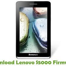 Download Lenovo S5000 Firmware - Stock ...