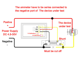 3 wire voltmeter wiring diagram 3 image wiring diagram 2017 whole digital voltmeter ammeter gauge 2in1 dc 4 5 30v 50a on 3 wire voltmeter