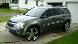 Chevrolet Equinox 2006 Rims | Chevrolet Equinox LS AWD (2006) | I ...