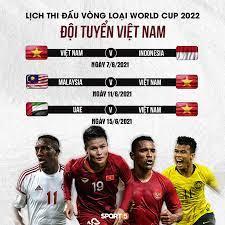 Lịch thi đấu giao hữu: Lịch Thi Ä'ấu Bảng Xếp Hạng Vong Loại World Cup 2022 Của Ä'á»™i Tuyển Việt Nam