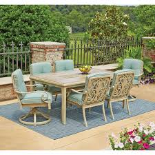 grand resort patio furniture brilliant lynden hills 7 piece dining set with sunbrella fabric