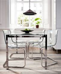 it ikea tobias chair transpa acrylic dining chairs are great for small