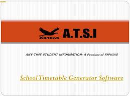 School generator Indoor 919880420005 919507688000 Ppt School Timetable Generator Software Xiphias Powerpoint