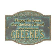 Quote Plaques Awesome Free Shipping To Home Custom Address Plaques Address Signs The