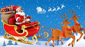 santa claus and reindeer. Brilliant Santa The History Of Santa Clausu0027s Reindeer  How Do Santau0027s Fly  Christmas Facts To Claus And YouTube