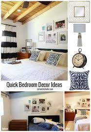 Wall Bedroom Decor Magnificent Remodelaholic Bedroom Decor Ideas