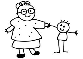 Kleurplaat Oma Migliori Pagine Da Colorare