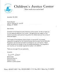 You Letter Thank You Letter From Childrens Justice Center Maa