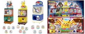 Pokemon Mini Vending Machine Awesome Pokemon Gashapon Gacha Gacha Catch 'Em All FROM JAPAN Blog