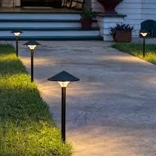 led pathway lighting empress led landscape light made in the usa 75 point 65 dollar dekor