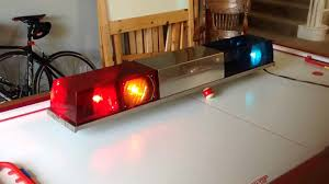 Signal Stat Light Bar Federal Signal Cts Twinsonic Lightbar By Dnice123