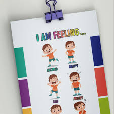 Feelings Chart For Kids Emotion Chart A Simple Way To Check In On Your Childs Feelings