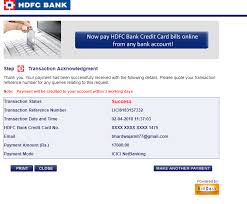 Consumer durables looking to upgrade your home and planning to buy that latest big screen led tv or wanting to own the newly launched smartphone. Hdfc Bank Credit Card Complaints
