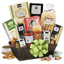 tour of italy italian gift basket