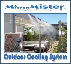 mist cooling system quality patio mister for outdoor cooling