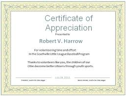 8 Free Printable Certificates Of Appreciation Templates Volunteer Of