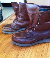 Restoring Antique Leather Dad Smarts On Shoe Care Refurbishing Leather Boots Qwear