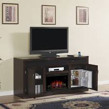 endzone electric fireplace entertainment center in espresso 26tf8299 e451