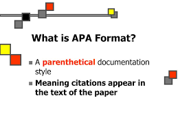 Ppt Documenting Sources Essentials Of Apa Format Powerpoint