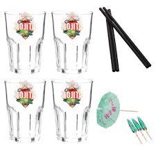 mojito gift set with 4 gles