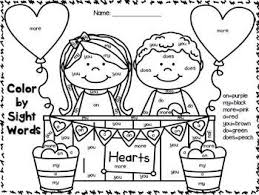 Small Picture 75 best Valentine Sight Word Plans images on Pinterest Sight
