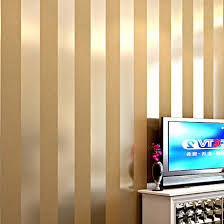 Non woven black white silver gold glitter striped wallpaper roll papel de  parede for livingroom bedroom backgound wall decor-in Wallpapers from Home  ...